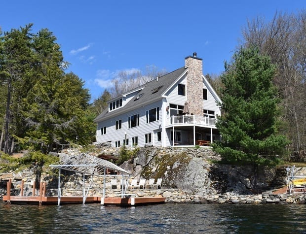 New Hampshire lake rentals